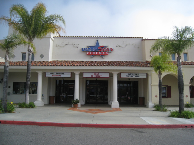 Front entrance to the Ultrastar River Village Cinemas
