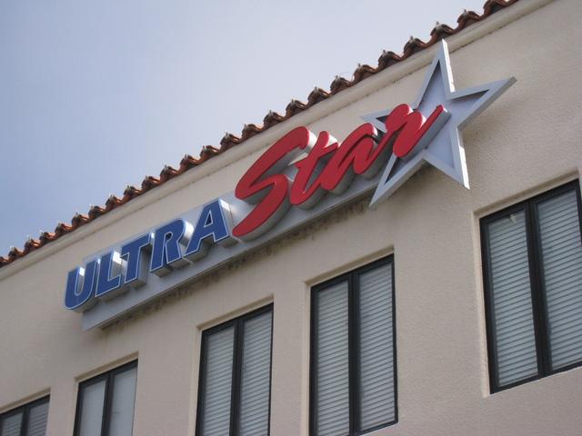UltraStar sign