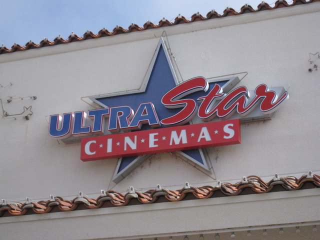 UltraStar Cinemas Sign