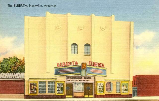 ELBERTA Theatre, Nashville, Arkansas