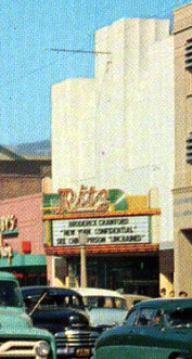 RITZ Theatre, San Bernardino, California