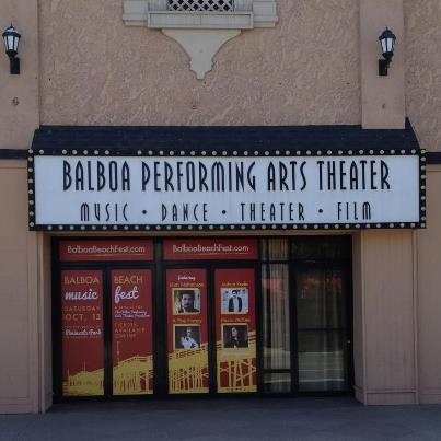2012 Front entry of the Balboa Theater while under construction.
