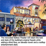 Balboa Theater Projected New Look
