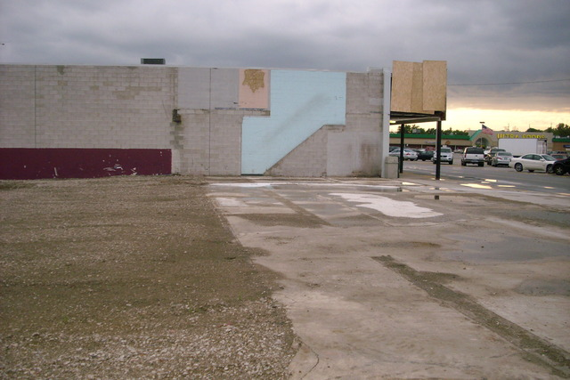 The remains of Crossroads