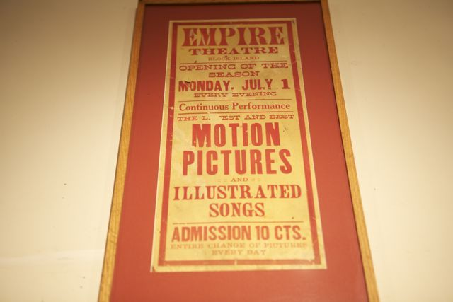 Empire Theatre advertising, cira 1905