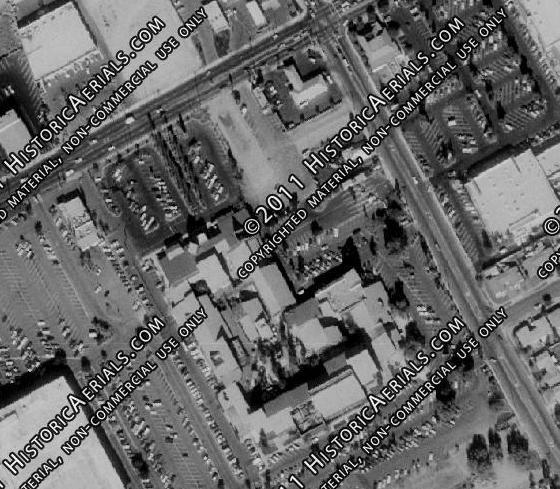 Aerial Photo from 1980 of the Vineyard Mall