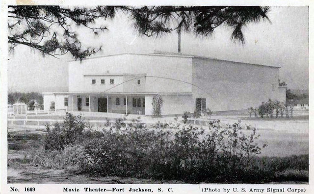 FORT JACKSON Theatre, Columbia, South Carolina