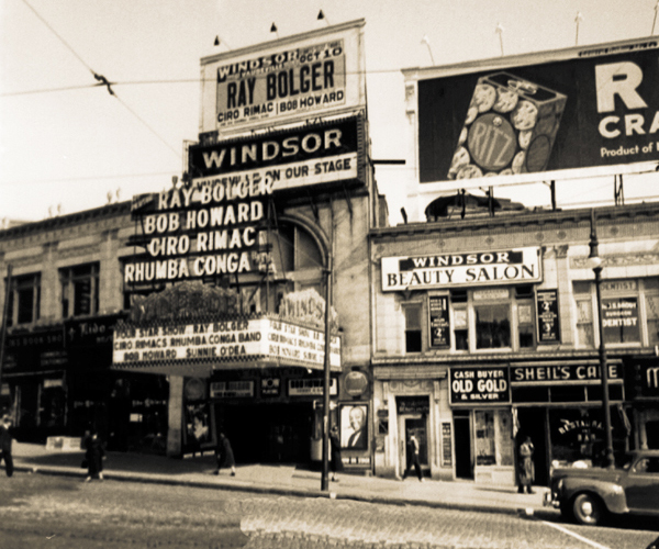 Windsor Theatre, Bronx, NY...FOrdham Rd.
