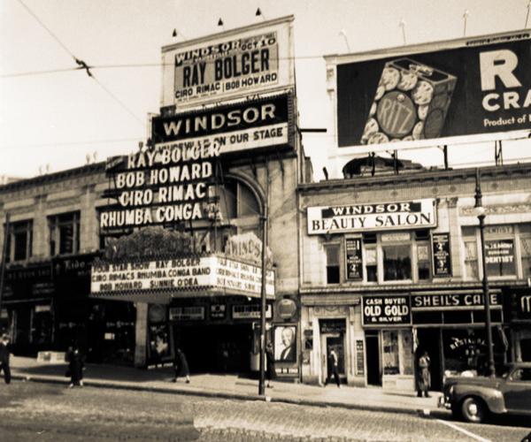 Windsor Theatre, Bronx, NY...FOrdham Rd.