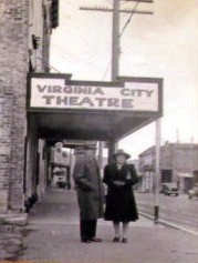 VIRGINIA CITY Theatre, Virginia City, Nevada