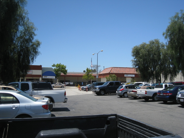 Site of the former Escondido Drive-In (first location)