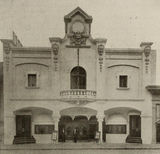 Facade, Bijou Theatre, Springfield, Massachussets, 1910