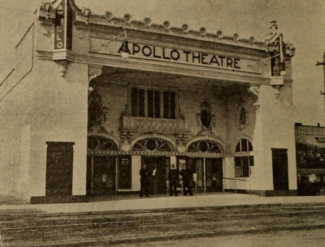 apollo theatre in chicago il cinema treasures