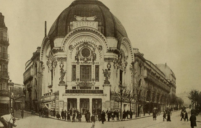 Hippodrome Theatre, Paris, France, 1909