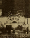 Gem Theatre, Chicago, by NIght, 1909