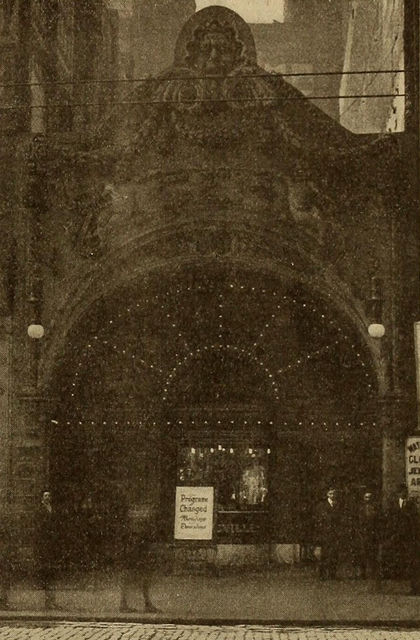 Gem Theatre, Chicago, 1909