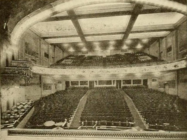 Auditorium, T&D Theatre, Portland, Oregon, 1916