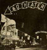 T&D Theater Sign, Portland,Oregon, 1916