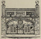 A 1910 Drawing of the Proposed Royal Theatre, Little Rock