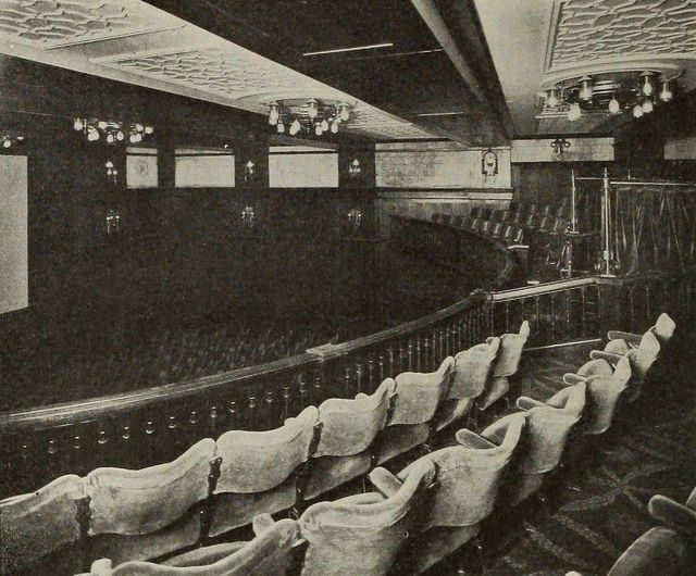 Balcony Seating, Cinema House, London, 1910