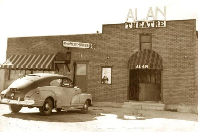 ALAN Theatre, Gerlach-Empire, Nevada, about 1949