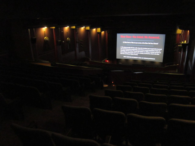 Bloor Hot Docs Cinema - Balcony