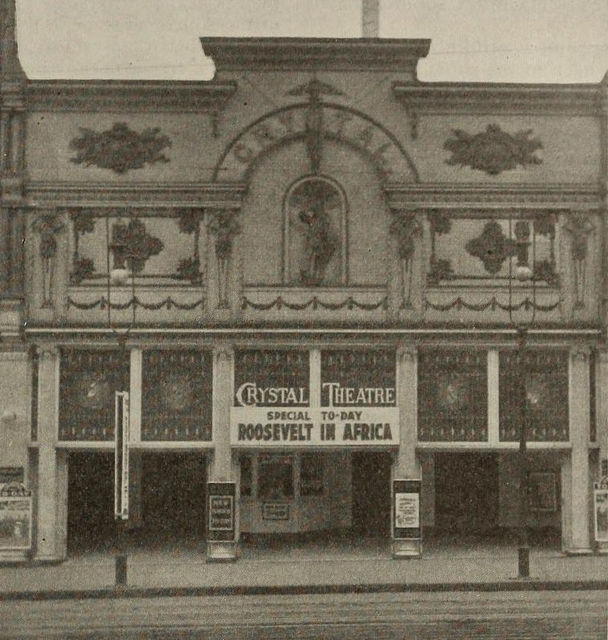 Crystal Theatre, Minneapolis, 1910