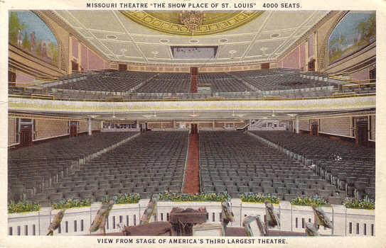 Missouri Theater auditorium