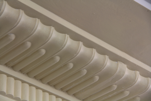 "Enfield ""Savoy"" - plasterwork #1 - April 2012"