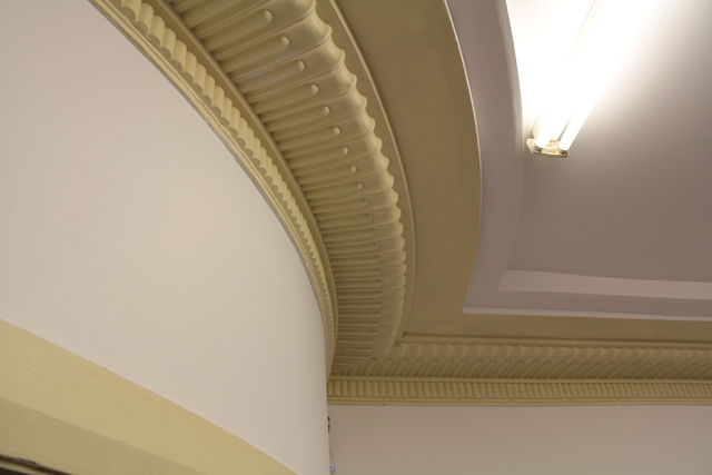 Enfield ' Savoy' - plasterwork detail #2 - April 2012