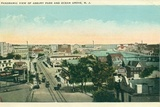 <p>A 1922 aerial view of Cookman Ave. The St. James is just to the left of the Ferris wheel.</p>