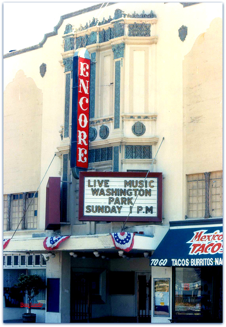 Encore Theater Burlingame CA...Don Lewis