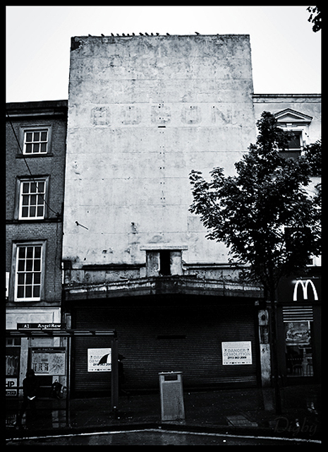 Last days of the Odeon Nottingham