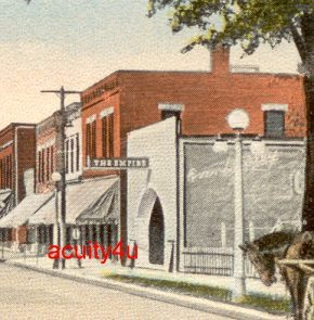 Postcard view, EMPIRE Theatre; Amherst, Ohio.