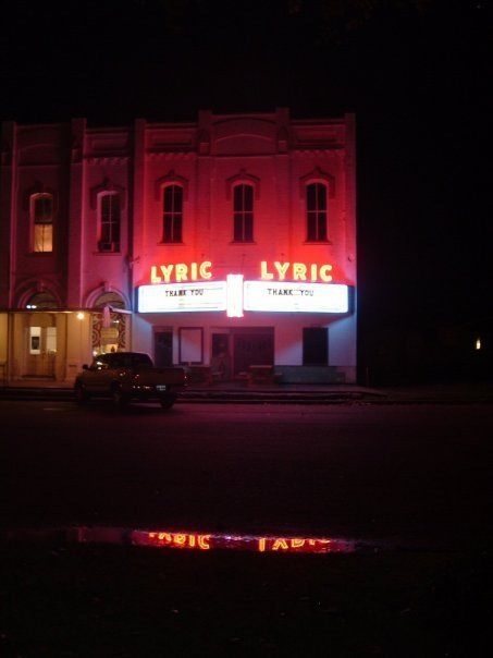 Lyric Theater shining bright