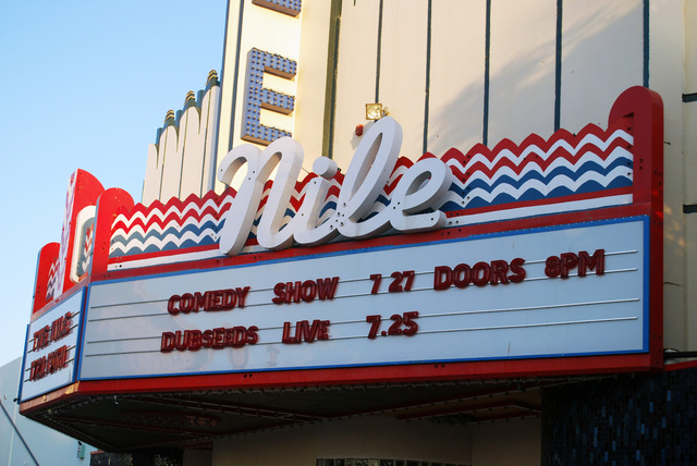 Nile Theatre Marquee