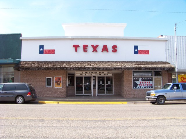 Texas Theater in Shamrock, Texas