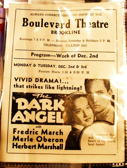movie program circa 1935