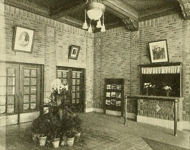 Lobby, Plaza (Orpheum) Theatre, Waterloo, Iowa, 1915