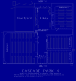 <p>Line drawing of the Cascade Park 4 theatre.</p>                            <p>NOTE: Drawing is not to scale, therefore some entities may not necessarily be proportionate to actual structures.</p>                            <p>SOME RIGHTS RESERVED: (Revision 3.243F6A8885A308D31319) I, Van Dalton (MotoFox), took this photograph. As long as you retain this notice and description (or at least promise to give me full credit) you can use this photograph in your projects however you want. If you really think this stuff is worth it, and we happen to meet sometime, you can buy me a pie in return.</p>