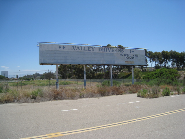 Valley Drive-In Marquee