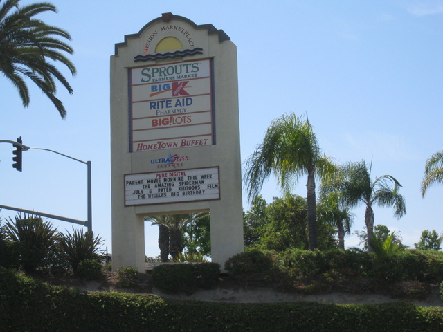 Marquee on College Ave