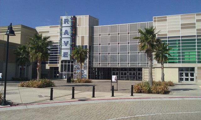 Daytime photo of the front of Rave--Brentwood 14 + IMAX