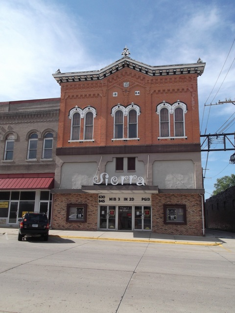 Sierra Theater, Jefferson, Iowa