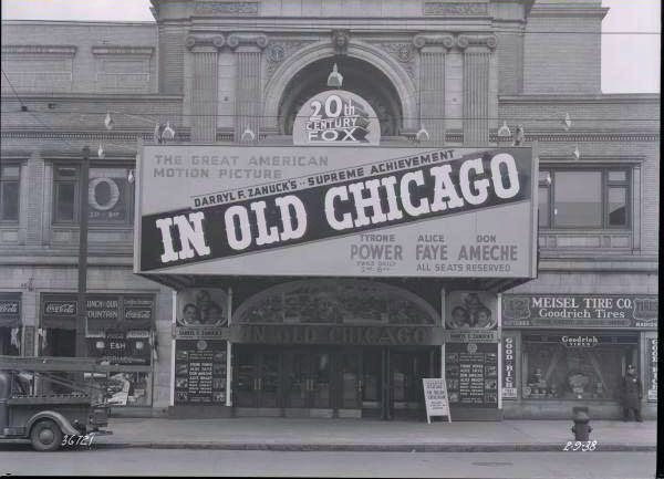 Erlanger Theatre Marquee