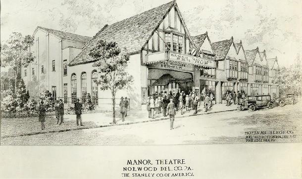 Manor Theatre Sketch