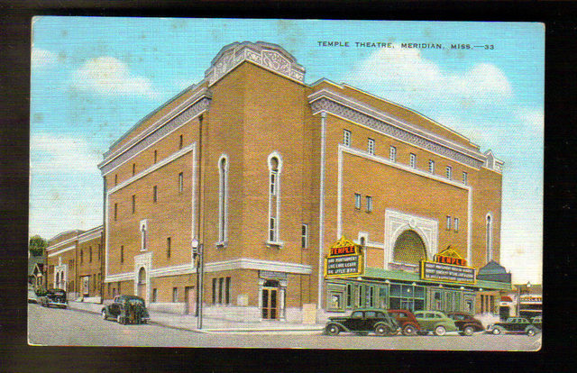 TEMPLE Theatre; Meridian, Mississippi.