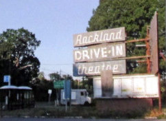 ROCKLAND Drive-In Theatre; Monsey, New York.