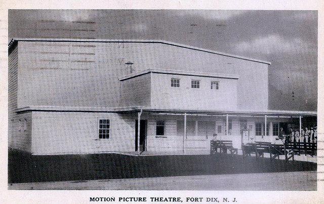 FORT DIX Theatre; Fort Dix, New Jersey, 1942.