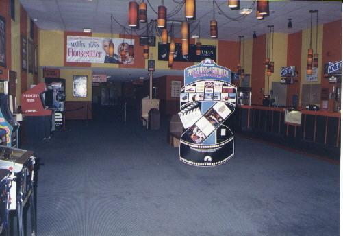 Theater lobby in 1992